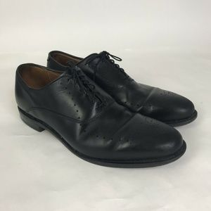 Allen Edmonds Weybridge Wingtip Black Leather